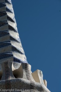 Entrance detail at Park Guell.